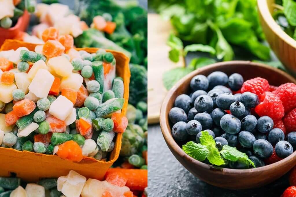 Taze Meyve Sebze ve Dondurulmuş Meyve Sebzelerin Hangileri Daha Sağlıklı?