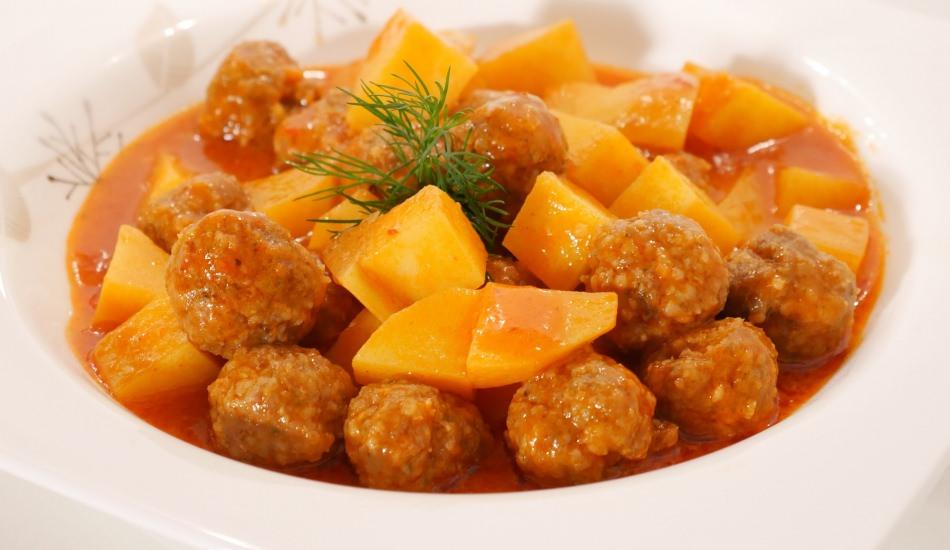Sulu Patatesli Misket Köfte Kaç Kalori