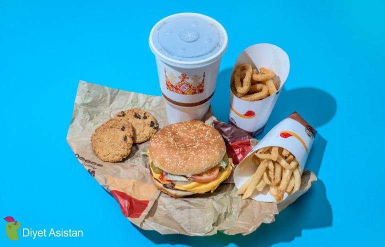Günlük Alınması Gereken 2000 Kalori Ve Fast Food Menüleri