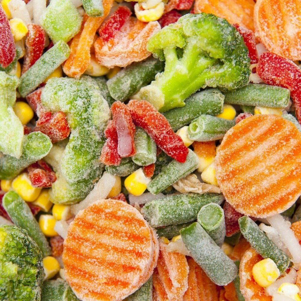 Dondurulmuş Sebzeler Zararlı Mı?
